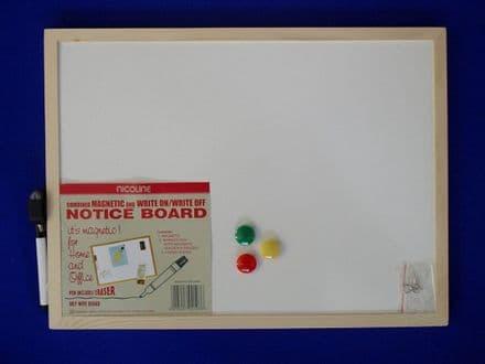 Nicoline Magnetic Dry Wipe Boards - 30cm x 40cm